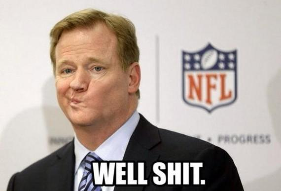 Roger-Goodell-NFL-meme-Adrian-Peterson-Well-Shit-funny-dumb-stupid-asshole-douche